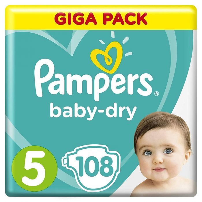 Pampers Baby-Dry Giga Pack 108p
