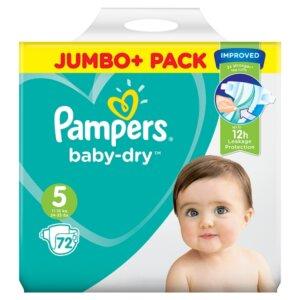 Pampers Baby Dry Jumbo+ Pack