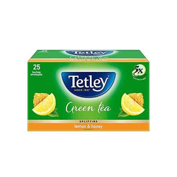 Tetley Green Tea Bag - Lemon & Honey