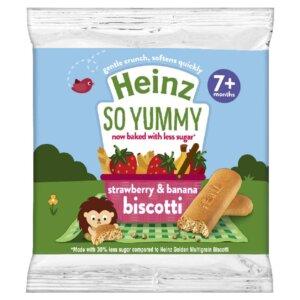 heinz strawberry and banana biscotti