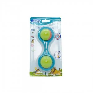 Lion Rattle Teether (Hide And Seak) 1Pcs Blister Card