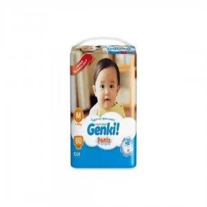 Genki! Pant Baby Diaper M -60 Pcs (7-10) Kg Malaysia
