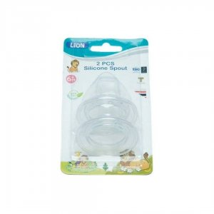 Lion Silicone Spout In Blister Card 2pcs