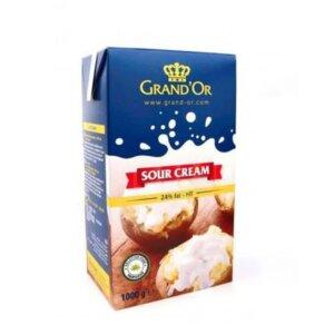 Grand'Or UHT Sour Cream 24% - 1Ltr