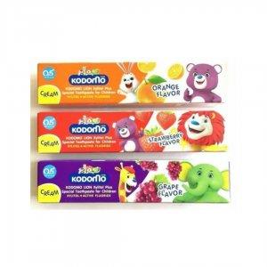 Kodomo Tooth paste Cream Strawberry/Orange/Grpape