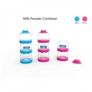 Lion Milk Powder Container 3 Part Set