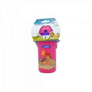 Lion Drinking Cup Sports Sipper W. Strap 1Pcs Header Card