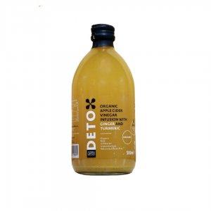 Deto Organic Ginger Vinegar 500 ml