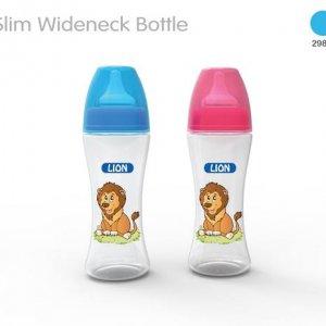 LION WIDE NECK FEEDER 8 OZ / 250 ML (BPA FREE)