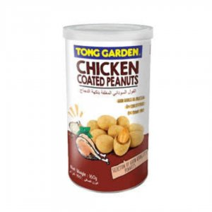 Tong Garden Chicken Coated Peanuts, Tall Can – 160g