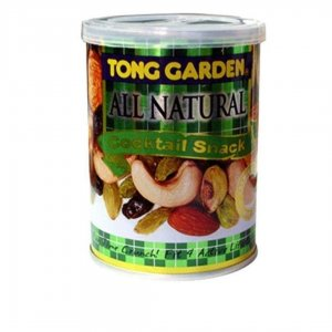 Tong Garden All Natural Cocktail Snack-Can 140gm