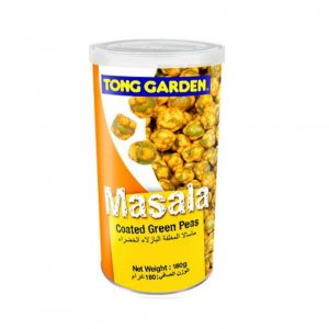 Tong Garden Masala Coated Green Peas, Tall Can – 180g
