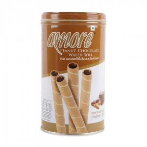 Tong Garden Amore Peanut Chocolate Wafer Roll-300gm