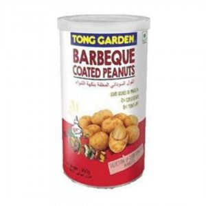 Tong Garden Barbeque Coated Peanuts, Tall Can