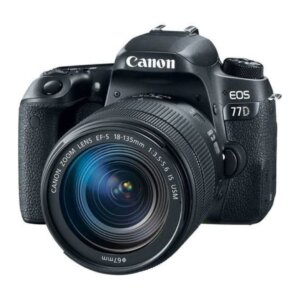 Canon 77D 24.2mp, Wi-Fi With 18-135mm Is Usm Lens Dslr Camera