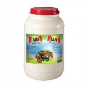 Alfa Mayonnaise Jar 1usg