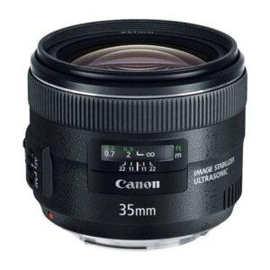 Canon EF 35mm f/2 IS USM Prime Lens