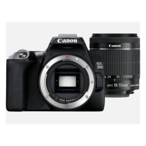 Camera Canon EOS 250D DSLR With 18-55mm F4.0-5.6 IS STM