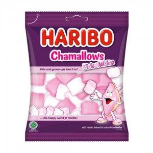 Haribo Marshmallows Pink & White Candy