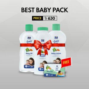 Parachute Baby oil 100ml + lotion 200ml + Baby powder 200ml n get free Baby soap 75gm