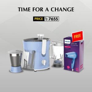 Philips Juicer Mixer Grinder (Hair Dryer Free)