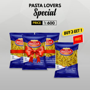 Buy 3pcs Reggia Pasta (Penne) 500gm and get 1 pack free
