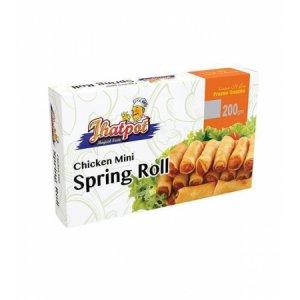 PRAN FROZEN Jhatpot Mini Chicken Spring Roll-25 pcs (200gm)